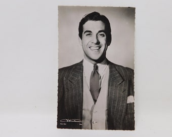 old Luis Mariano postcard