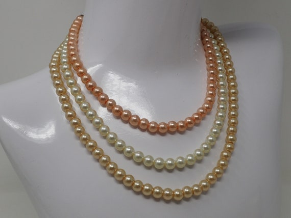 pearl art nouveau necklace