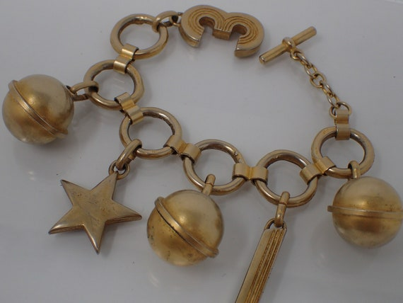Laurel charm bracelet