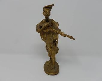 Old Bronze Statue Tribal Art