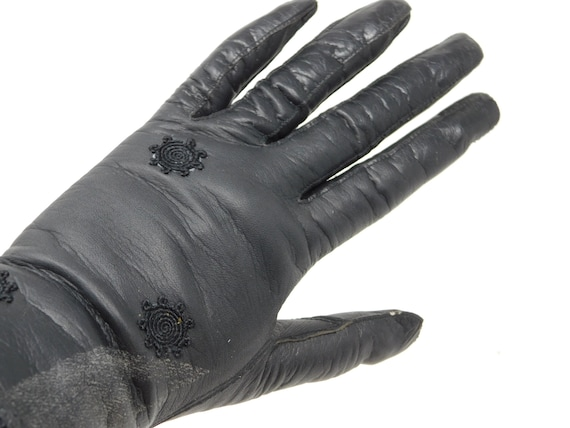 Fischl leather vintage gloves