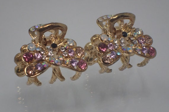 pair of hair clip jewelry