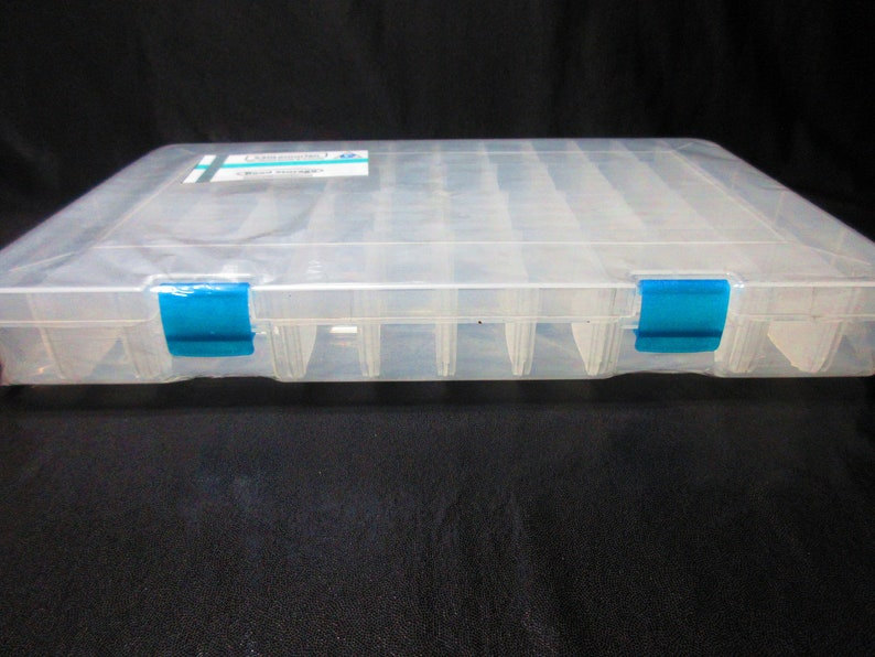 42 Compartment Bead Organizer With Dividers
