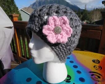 Crochet Cluster Hat