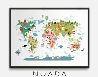 Large world map etsy gumiabroncs Gallery
