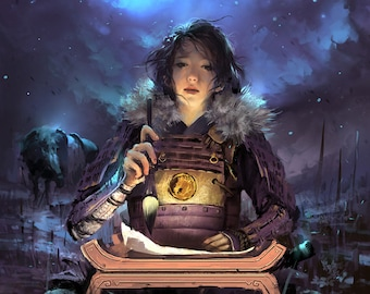 L5R Play Mat Vuong Le Legend of the Five Rings LCG Steadfast Witchhunter