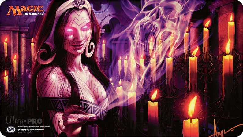 Monastery Swiftspear signed by Steve Argyle MTG Play Mat Magic Gathering CCG