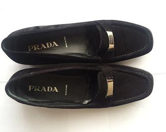 Vintage Women's Prada Loafers Size 10.5