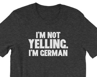 9fb5a1d012 Funny Loud German Heritage Shirt for Oktoberfest, Gift for Opa, German  Family, Beer Wurst Schnitzel and Beer Festival Unisex T-Shirt