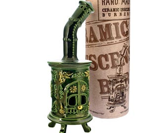 Incense holder art home decor item - Round stove
