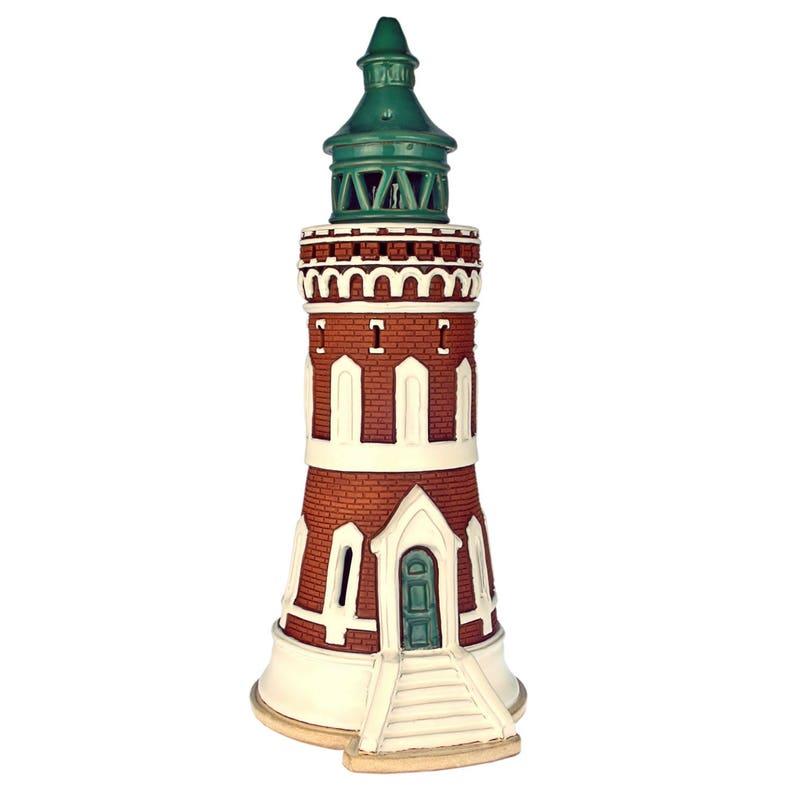 Original Handmade Ceramic Gift Lighthouse Model Candle Holder