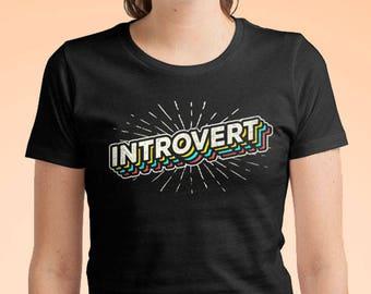 303b473cf Introvert Shirt - Introvert T Shirt / Introvert Gift / Introvert Shirt  Women Mens / Introverts Unite / Introvert Tee Shirt Indie Shirt