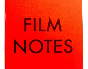 FILM NOTES: Film Photography Workbook by Eric Kim