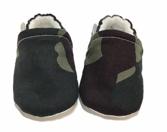 802b96d2b87 Camouflage Baby Shoes