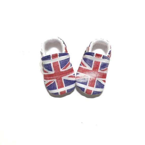 b36fca2803e31 Chaussons chaussures bébé Britannique de lUNION JACK sexe
