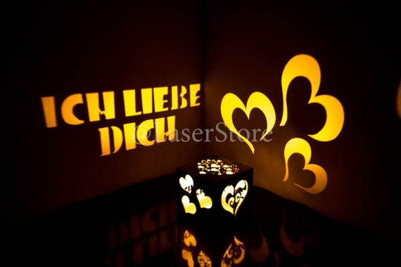 Ich Libe Dich Personalized Birthday Gifts For Girlfriend