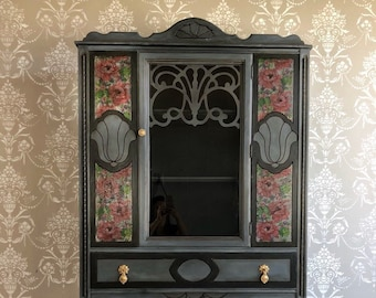 Painted Furniture China Display Cabinet With A French Country, Farmhouse  Style In Located Tampa, Florida