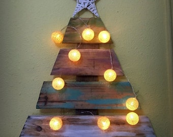 Wall Christmas Tree Etsy