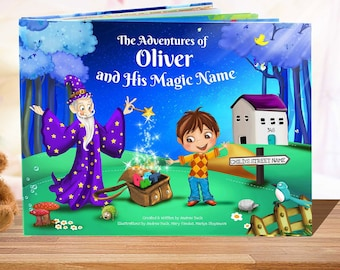 Boys Birthday Personalised Story Book