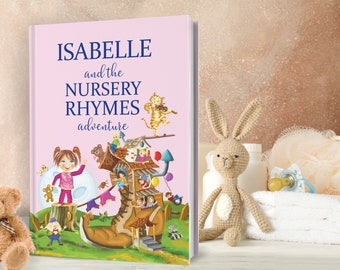 1st Birthday Gift - Personalized Poems and Timeless Nursery Rhymes Book for Boy and Girls - Baby, Child Birthday Gift - Keepsake Gift
