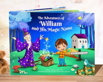 Personalised Books for Children - Kids Story Books, Personalized Gift, Gift for Kids, Baby Gift, Niece, Nephew Gift - NEXT DAY DISPATCH