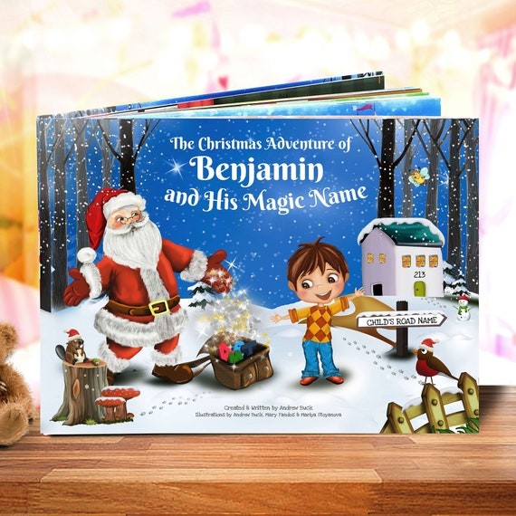 Christmas Story For Kids.Christmas Book For Kids A Personalized Christmas Story Book Handmade A Unique And Magical Story For Every Child S Name Santa Claus