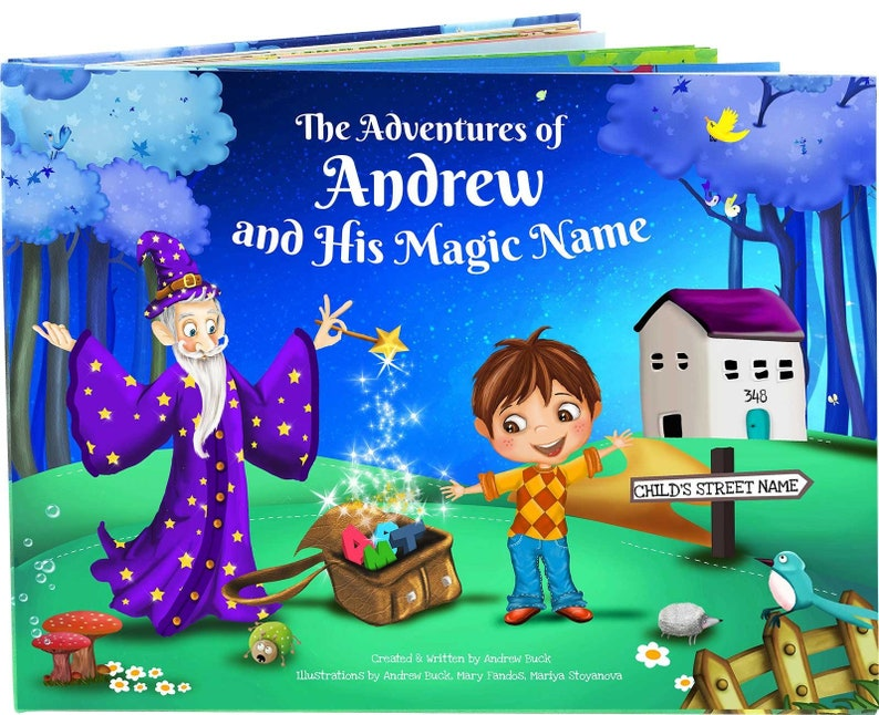 Personalised Children's Book  Unique to Every Child  image 0