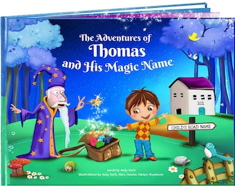 Personalized Children's Gifts - Children's Book, Gift for Niece, Nephew, Kids Story Books, Personalised Kids Gifts - NEXT DAY DISPATCH