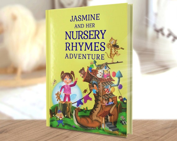 personalized poems and timeless nursery rhymes story book for etsy