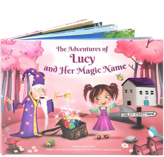Personalised Book for Girls