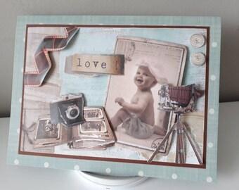 a1e5b10c83fea Carte naissance. Carte heureux événement. Carte de naissance 3D. Carte de  naissance. Carte anniversaire bébé. Carte anniversaire.