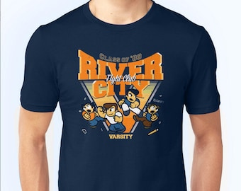 River City Fight Club - River City Ransom Nintendo game Tee