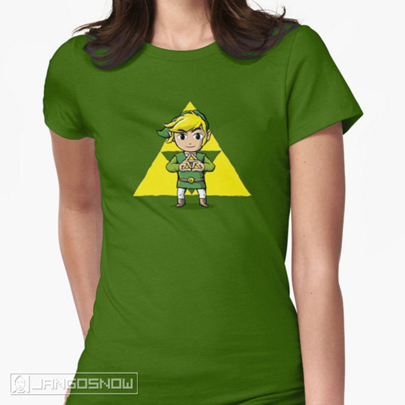95030572d Hyrule BFFs Link Triforce Tee Legend of Zelda | Etsy