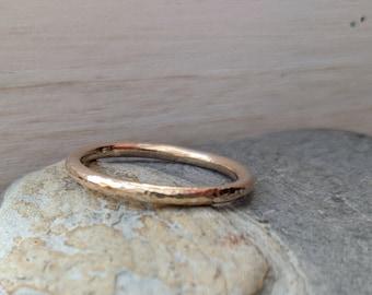 Gold Stacking Band Ring