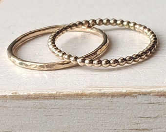 The Grace Gold Ring Set