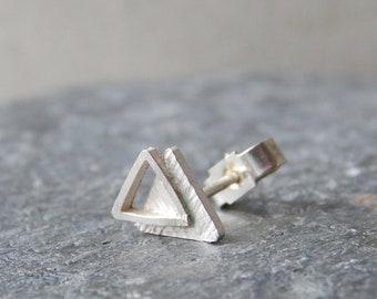 'Trinity' Triangle Studs