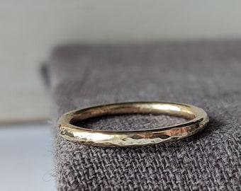 9ct Gold Skinny Ring