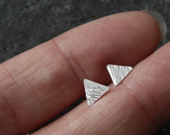 Triangle Shimmer Studs