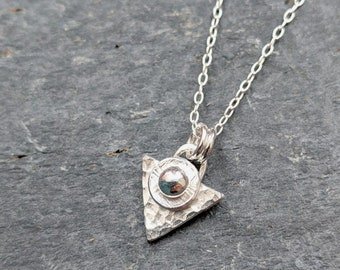 Bliss Triangle Necklace