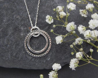 Enchanted Hoop Necklace