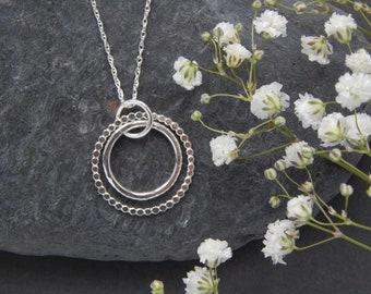 Enchanted Hoop Necklace