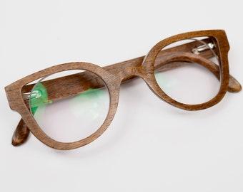 Wood Eyewear for Women Wooden Reader Glasses Frame