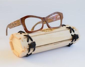 Wooden Glasses For Women Wood Eyeglasses Wood Eyewear Reading Glasses Personalized Prescription Glasses