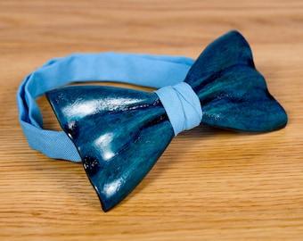 Wedding Wood Bow Tie, Groomsmen Proposal, Wood Bow Tie For Men, Groomsman Gift, Wooden Bow Ties