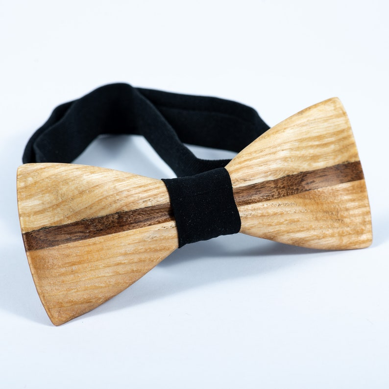 e6ae98585efe Wooden Bow Tie Wood Bowtie Wedding Rustic Ties Groomsmen | Etsy