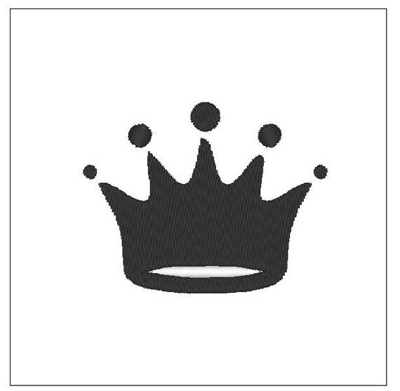 descarga de patrones de bordado corona para aro de bordado de | Etsy