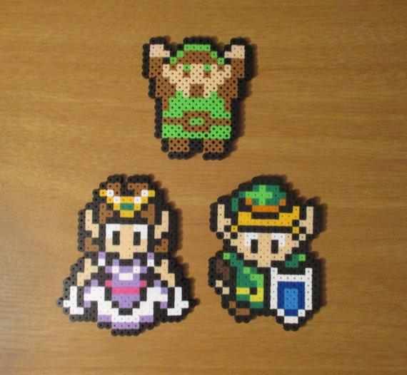 Legend Of Zelda Characters Nerdy Collectible Pixel Art