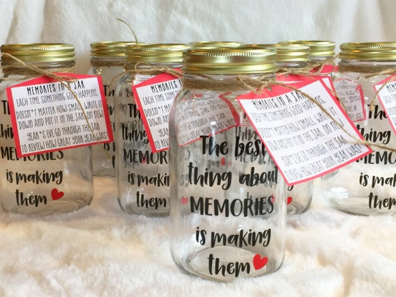 Memory Jar Nye Gift Anniversary Gift New Year S Eve Etsy