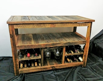 Sofa table with wine storage Low Profile Rustic Tv Stand Or Sofa Table Entertainment Center Rustic Wood Furniture Farmhouse Furniture Wine Racks Reclaimed Wood Console Table Etsy Wine Rack Sofa Table Console Table Farmhouse Furniture Etsy
