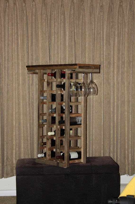 Casier vin rustique meubles en bois grange casier vin etsy - Meubles grange ...